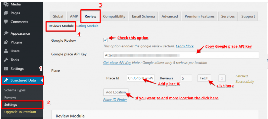 How to import and display Google reviews Automatically (from